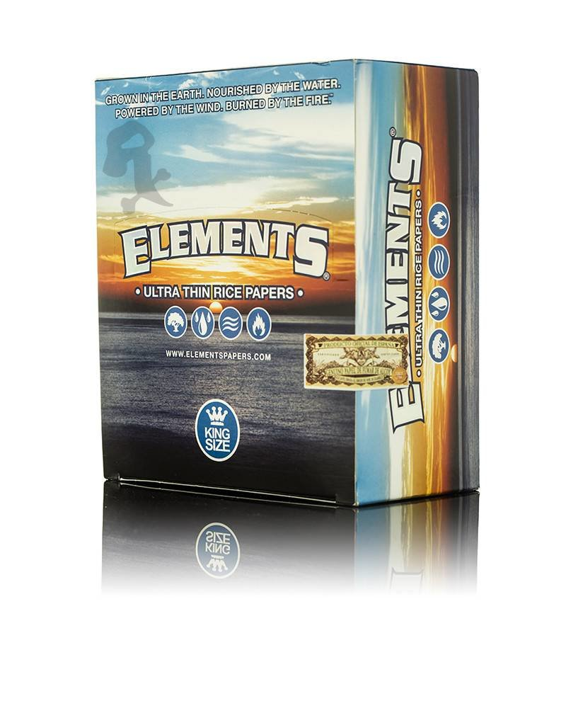 Elements Elements King size 50/Box