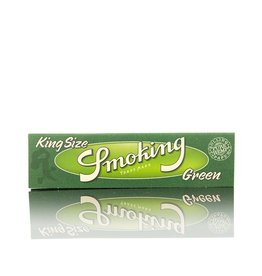 Smoking Smoking Green Hemp King Size