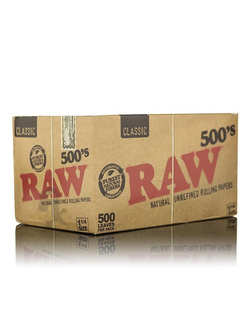 Raw RAW 500 Classic 1 1/4 Box/20