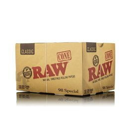 Raw Raw 98 Special Cones 12/Box