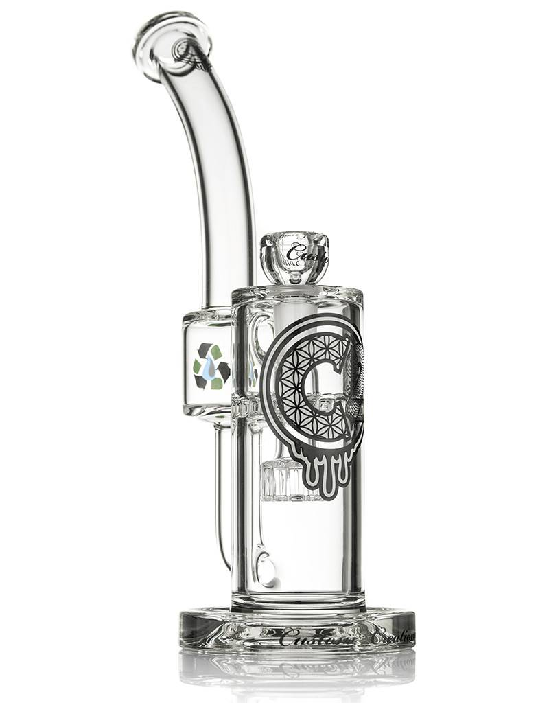Custom Creations C2 Showerhead to Ratchet Perc Recycler 50mm Custom Creations