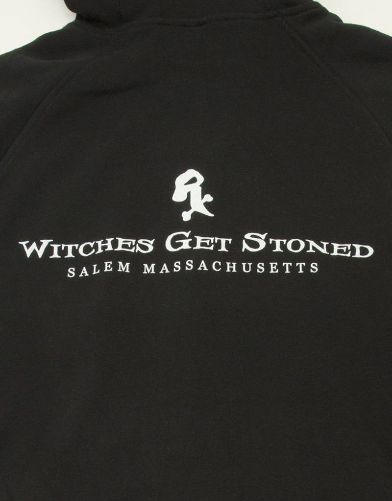 Witch DR Witch DR Witches Get Stoned Zip Up Hoodie