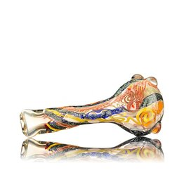 David James David James Large Glass Spoon Pipe w/ Dichro 2 Inside Out