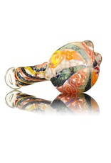 David James SOLD David James Large Glass Spoon Pipe w/ Dichro 2 Inside Out
