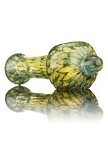 Nelson Glassworks Spoon Pipe by Nelson Square Coil Glass Spoon Pipe 2 - Inside Out
