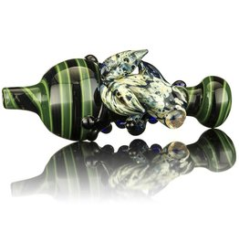 UKIAH Ukiah Black & Green Bubble Cap w/ Blue Frog