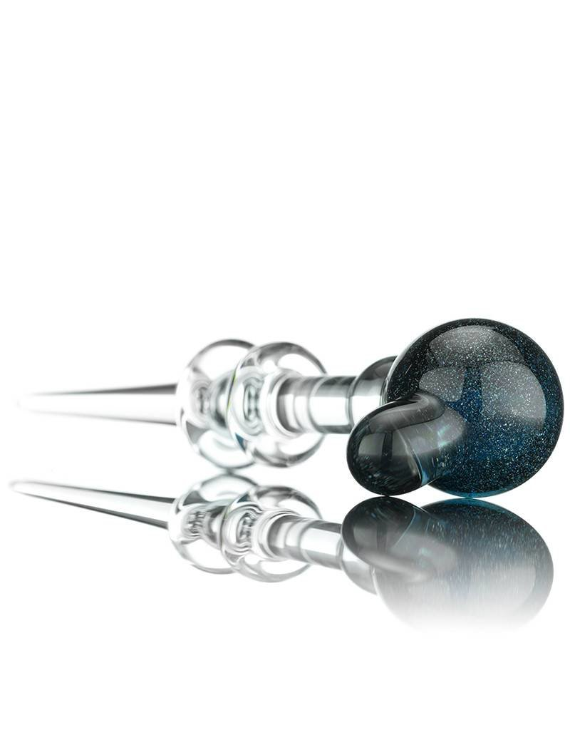Witch DR Witch DR Blue Stardust Accented Ball Head Dabber by Treso Queso