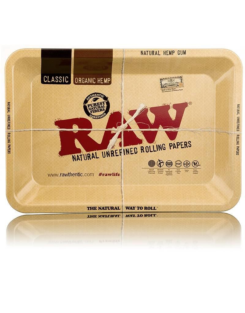 Raw RAW Rolling Tray Metal Large