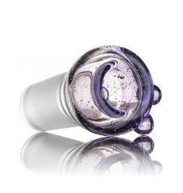 Witch DR Witch DR 18mm Purple Lollipop Coil Pot Slide by GloRo Glass