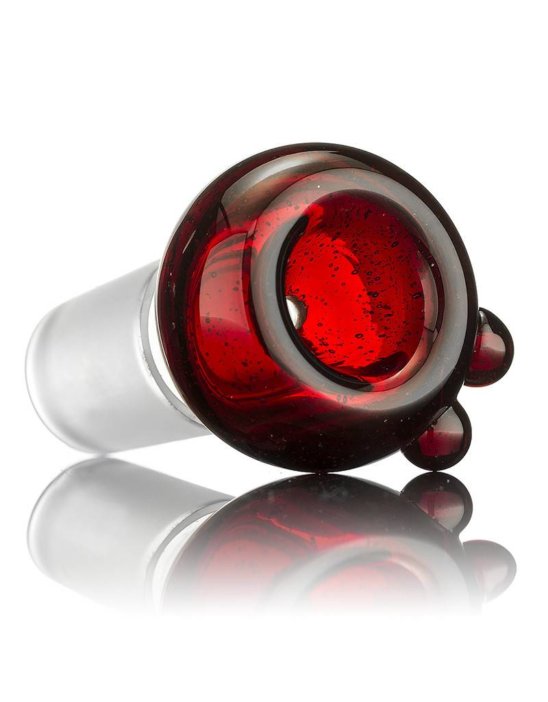 Witch DR Witch DR 18mm Red Coil Pot Slide by GloRo Glass