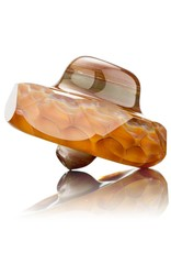BEAK Glass Beak Faceted Honey Dab Rig Set w/ Pelican 1120