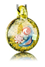 Mike Gong Mike Gong Gold Acid Eater Pendant