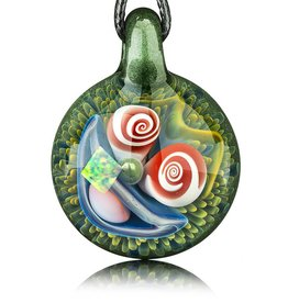 Mike Gong Mike Gong Mighty Moss Acid Eater Pendant