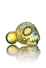 Dina K Dina K Glass Sugar Skull Spoon 4 - The Glass Enthusiast