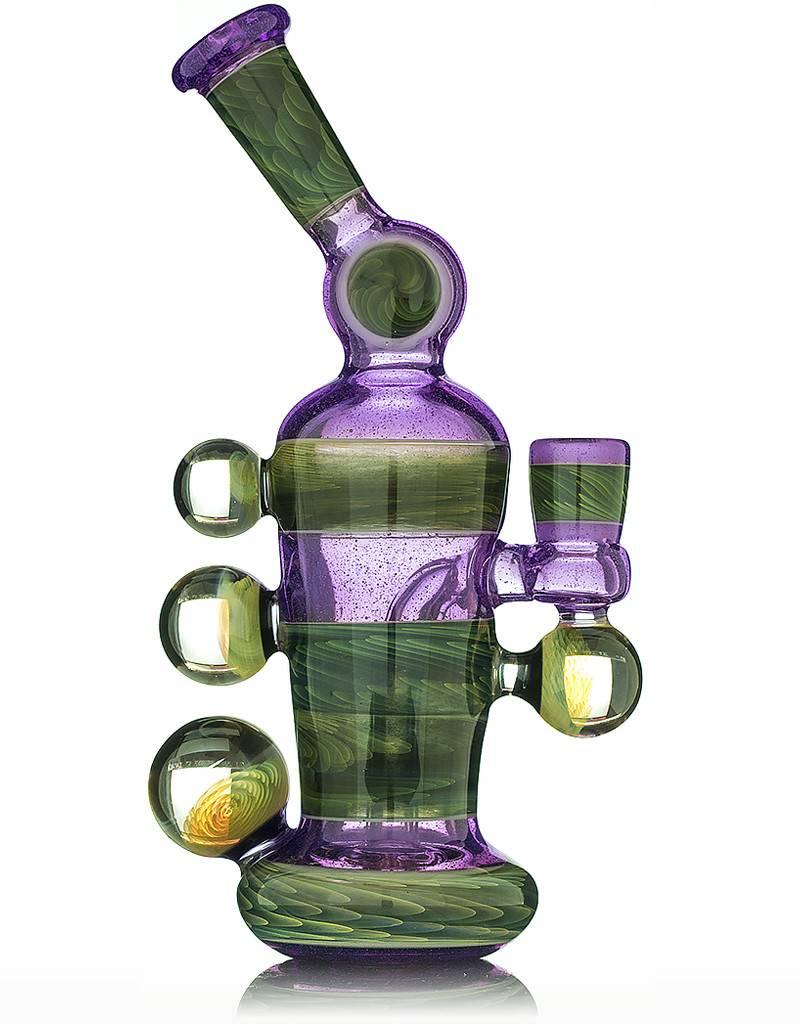 Christian Otis Christian Otis Parallax & Fume Angle Neck Milk Bottle Rig