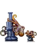 Bhaller Glass x Justin Barr SOLD Bhaller x Justin Barr Dichro Octopus Rig