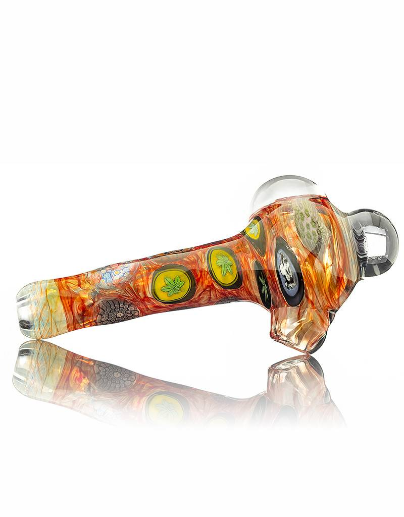 Jerry Kelly Jerry Kelly Millie Glass Spoon Hand Pipe #7
