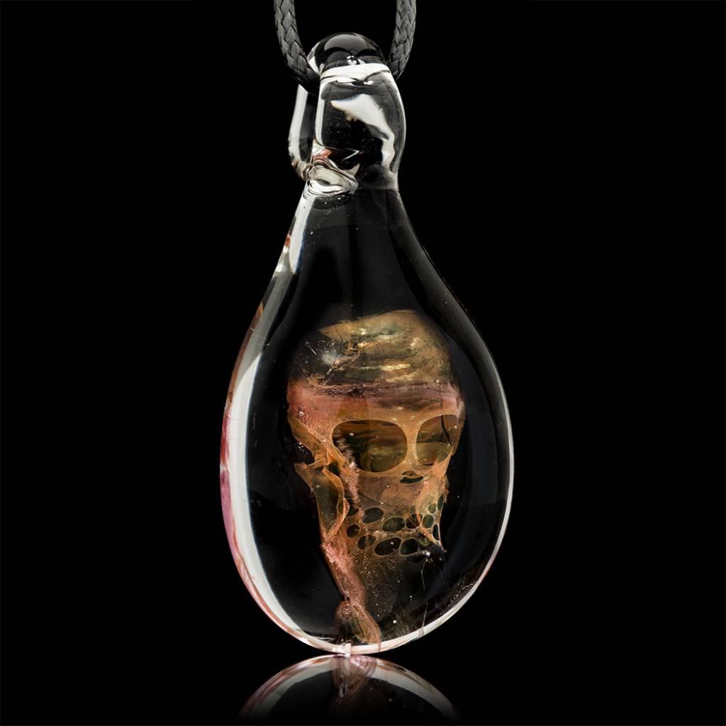 SOLD Bob Snodgrass Pendant #1 Snodgrass Family Glass