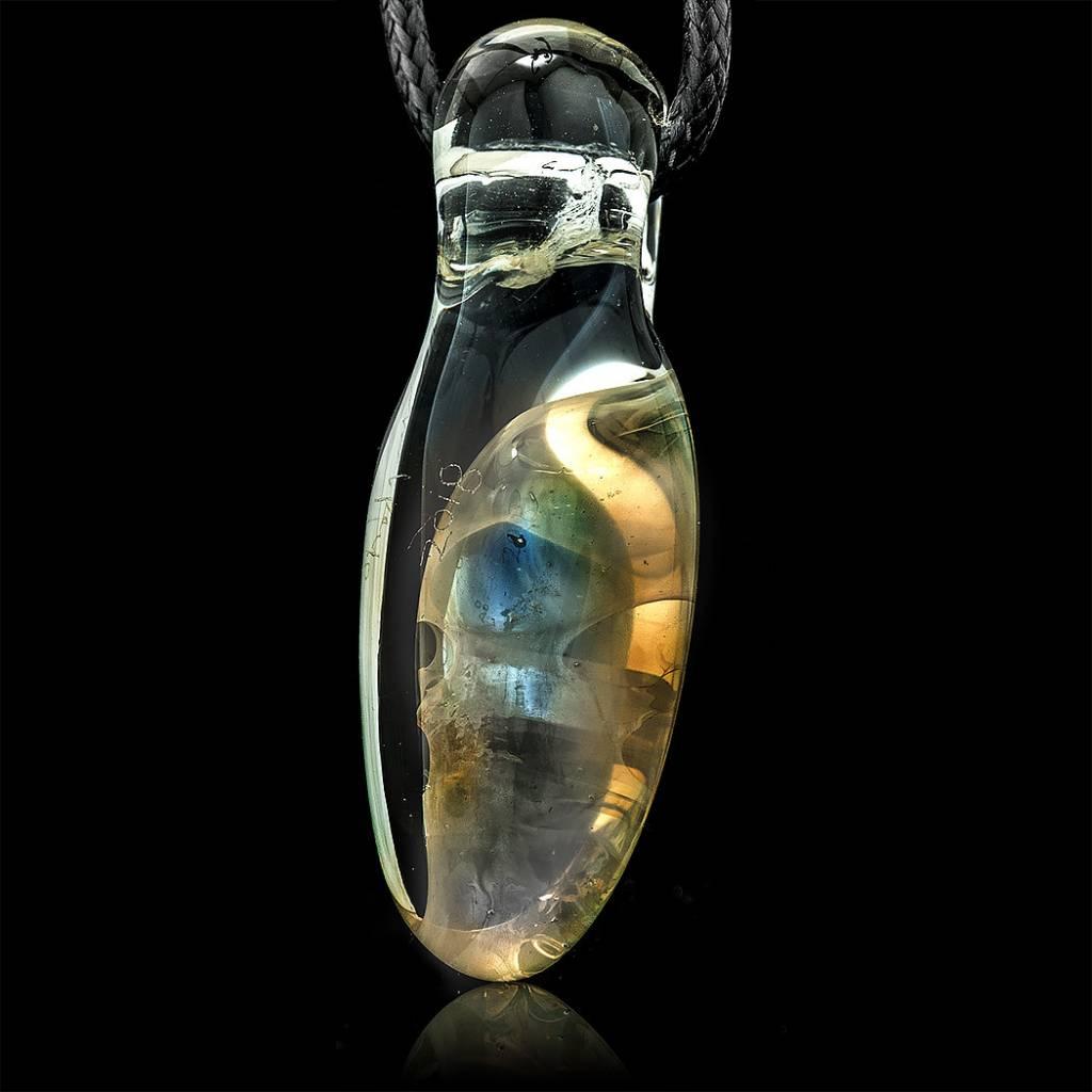 SOLD Bob Snodgrass Pendant #2 Snodgrass Family Glass