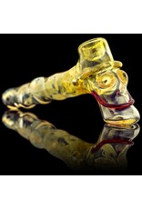 Bob Snodgrass Worked Stem MR Happy Hammer Pipe Snodgrass Family Glass