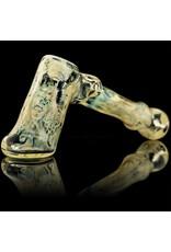 Bob Snodgrass UV Skull Hammer with Impressions Snodgrass Family Glass