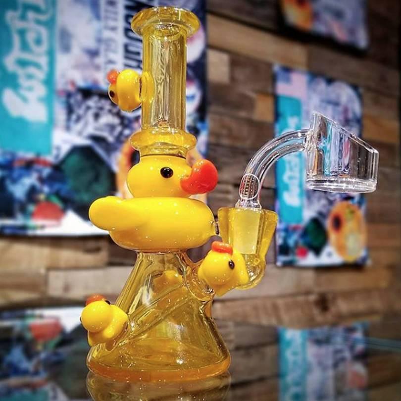 SOLD Ryno Arnold Palmer Ducky Beaker Dab Rig