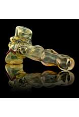 SOLD Bob Snodgrass MR Happy Hammer Pipe Snodgrass Family Glass