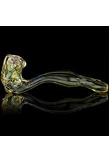 SOLD Bob Snodgrass XL Minute Pipe Snodgrass Family Glass