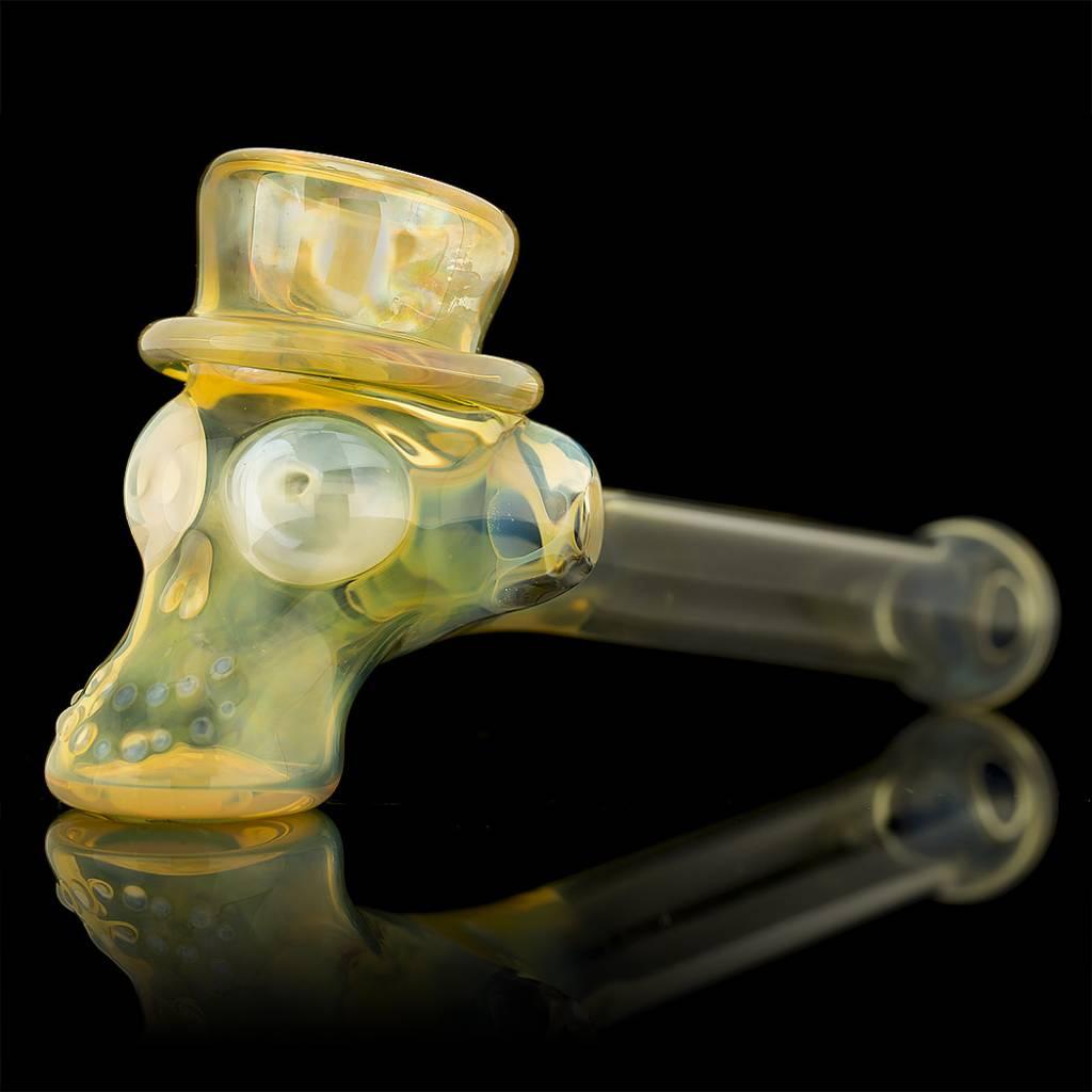 Ginny Snodgrass-Gietl Ginny Snodgrass-Gietl Top Hat No Cheek Bones #1 Snodgrass Family Glass