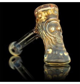 Ginny Snodgrass-Gietl Double Skull #2 Snodgrass Family Glass
