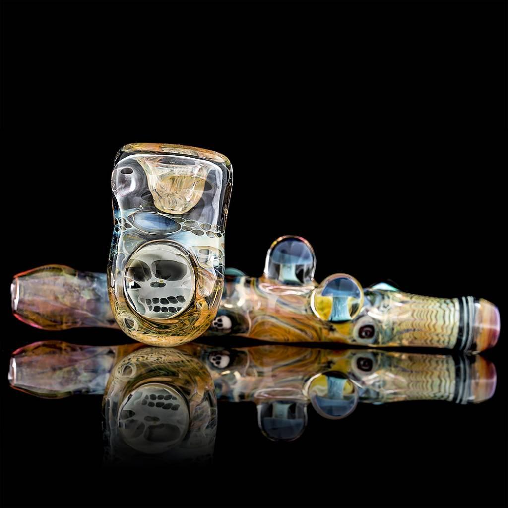 Bob Snodgrass SOLD Bob Snodgrass x Chemdog  Sidecar Snodgrass Family Glass