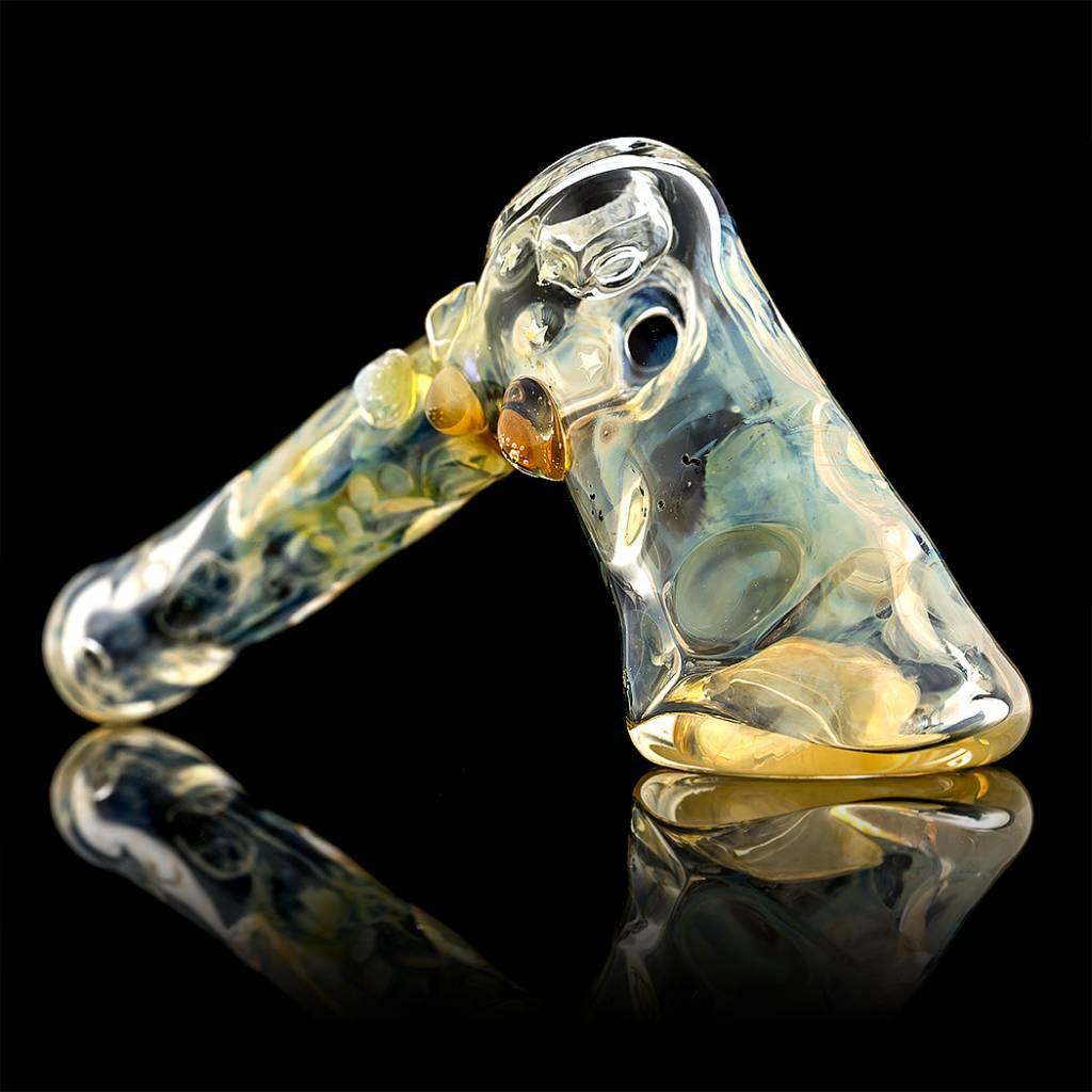 Bob Snodgrass Skeleton Impression Hammer Snodgrass Family Glass