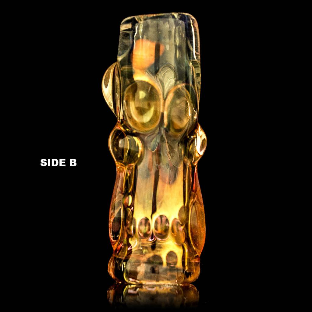 Bob Snodgrass Bob Snodgrass Skull Bead (B) Snodgrass Family Glass