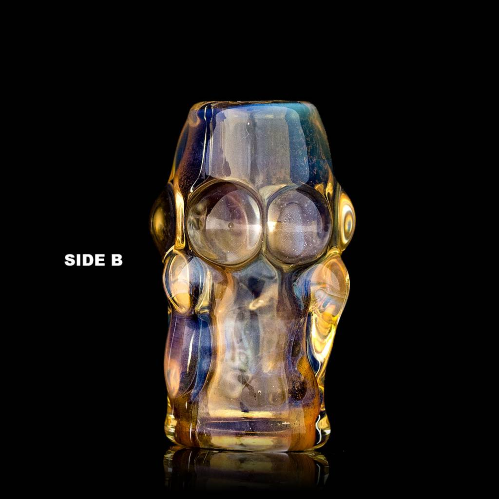 Bob Snodgrass SOLD Bob Snodgrass Skull Bead (F) Snodgrass Family Glass