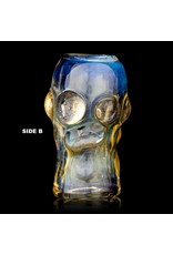 Bob Snodgrass Skull Bead (G) Snodgrass Family Glass
