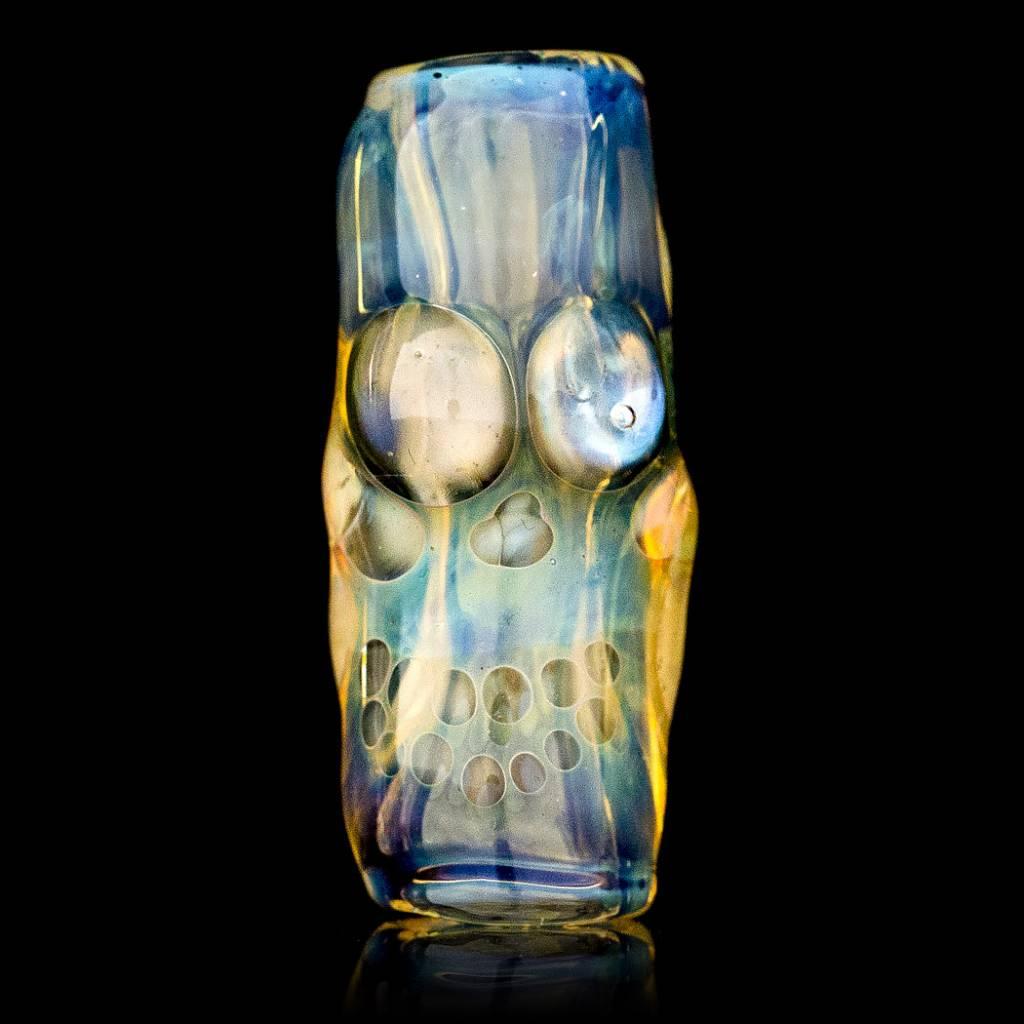 Bob Snodgrass SOLD Bob Snodgrass Skull Bead (I) Snodgrass Family Glass
