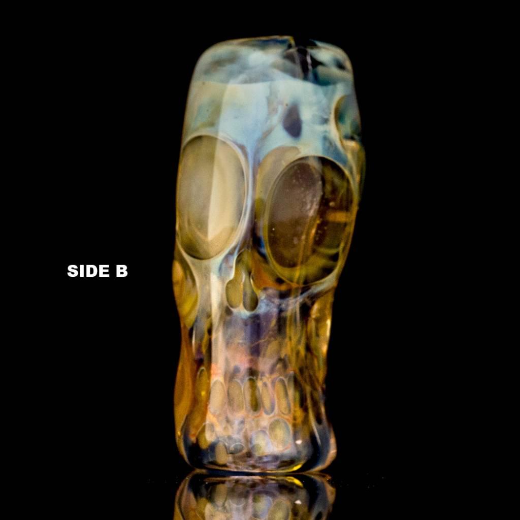 Bob Snodgrass SOLD Bob Snodgrass Skull Bead (J) Snodgrass Family Glass