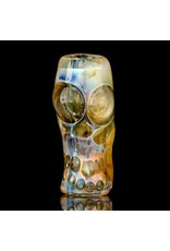 SOLD Bob Snodgrass Skull Bead (J) Snodgrass Family Glass