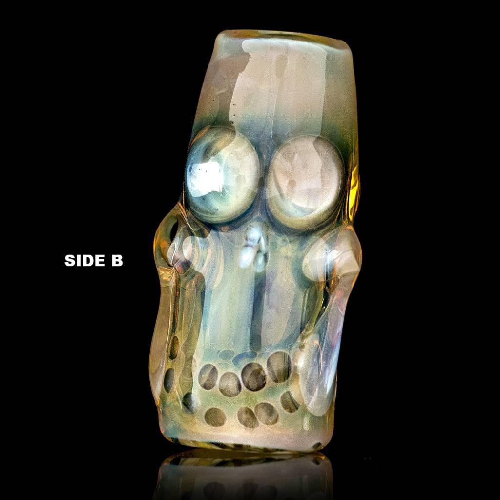 Bob Snodgrass Skull Bead (N) Snodgrass Family Glass