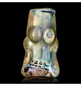 Bob Snodgrass Bob Snodgrass Skull Bead (O) Snodgrass Family Glass