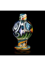 Dillinger Glass SOLD Dillinger Choas UV Bubble Cap #4