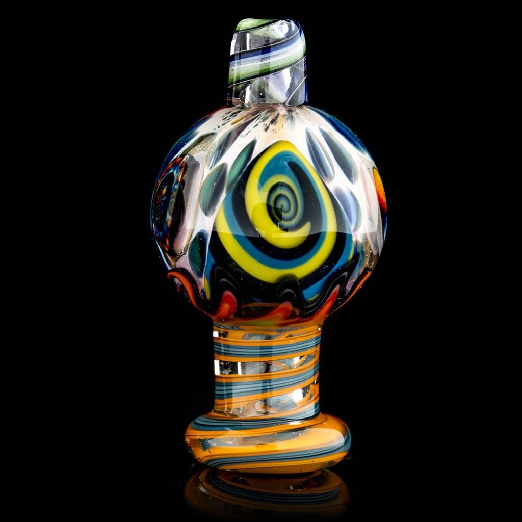 Dillinger Glass SOLD Dillinger Choas Bubble Cap #2