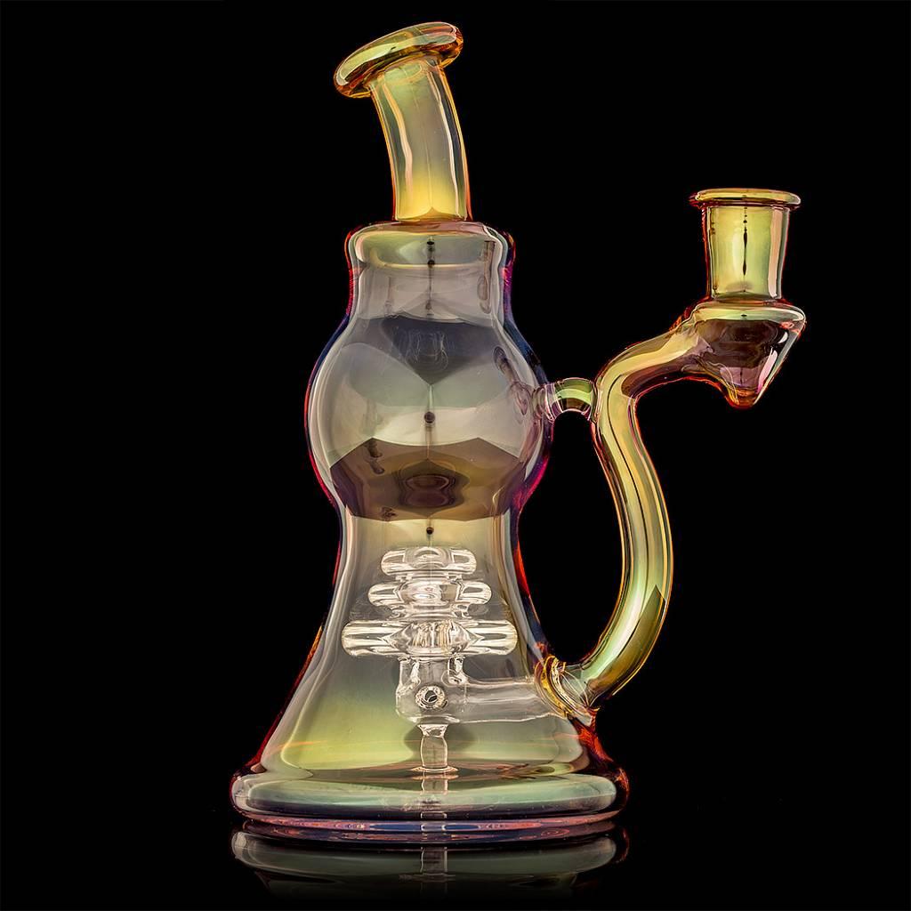 Bashaw Glass Bashaw Glass Triple Maria Fumed Dab Rig
