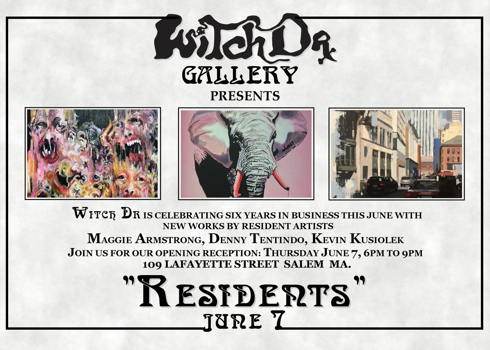 Witch DR Gallery Presents