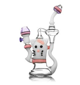 Fano Glass Fano Kitty Recycler Dab Rig