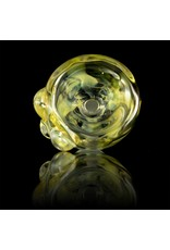 Witch DR Witch DR 14mm Fume on Clear Glass Bowl Slide with Clear Dots (U)