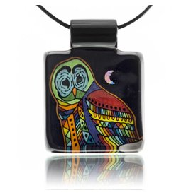 Kevin Murray SOLD Kevin Murray Owl Pendant