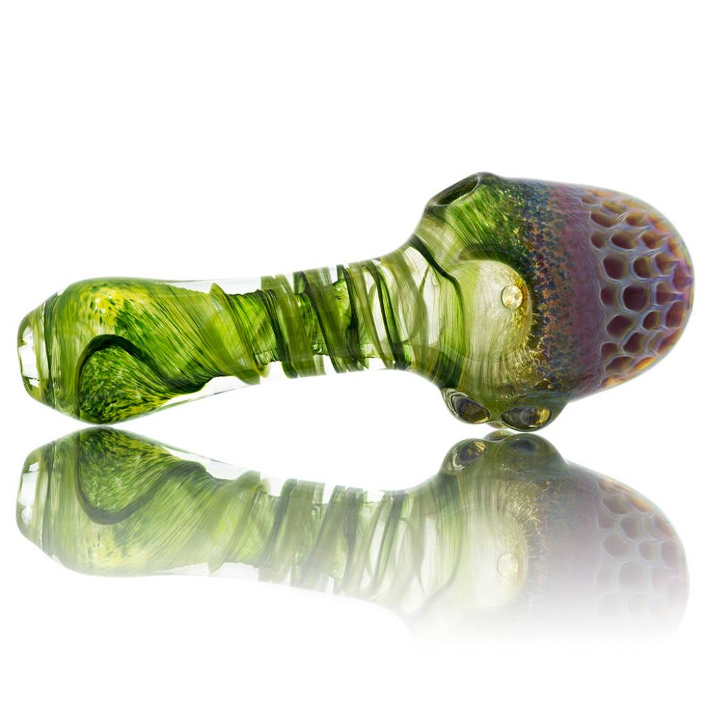 SOLD Plug-A-Nug Honeycomb Fume Cap Inside-Out Spoon #2