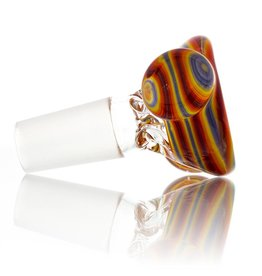 Clint Carpenter 14mm Worked Glass Bowl Slide #1