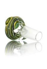 Clint Carpenter 14mm Worked Glass Bowl Slide #5